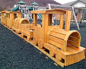 Train playgroung